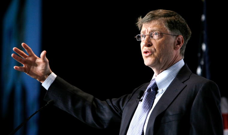 Image: Microsoft Corporation Chairman Bill Gates
