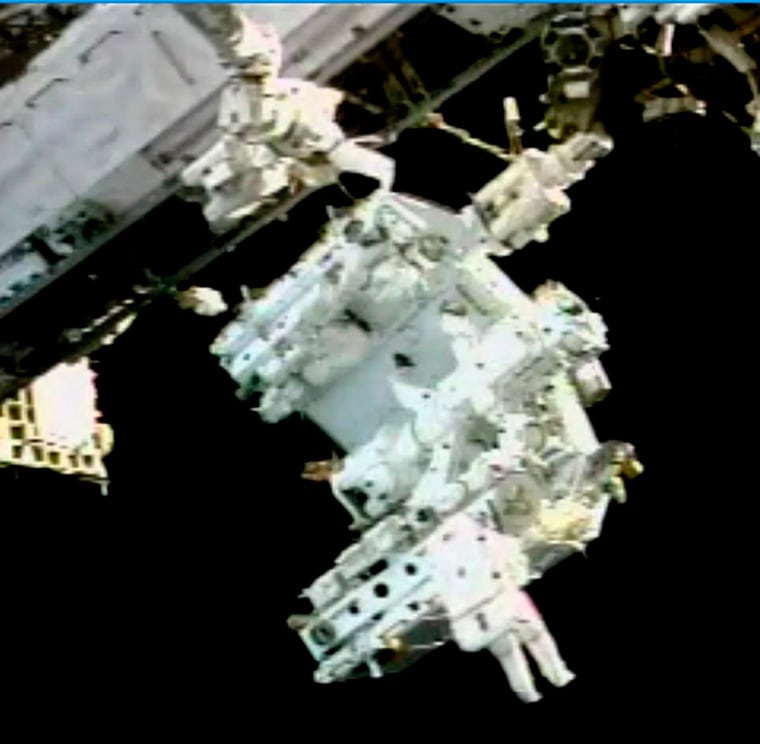 Image: Space Shuttle Endeavour First Space walk