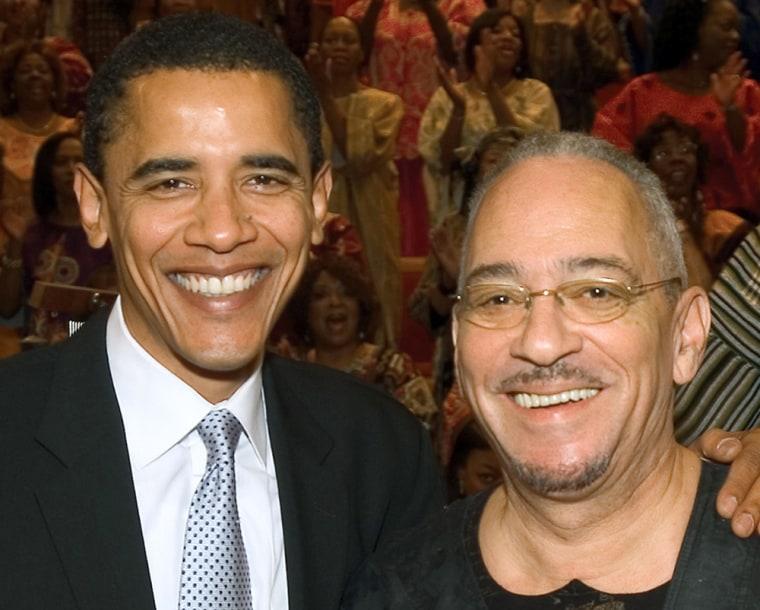 Image: Barack Obama, Jeremiah Wright