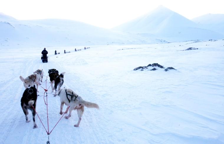 Image: Arctic archipelago of Svalbard