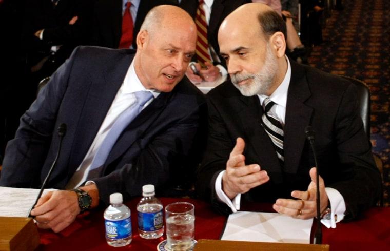Image: Henry Paulson, Ben Bernanke