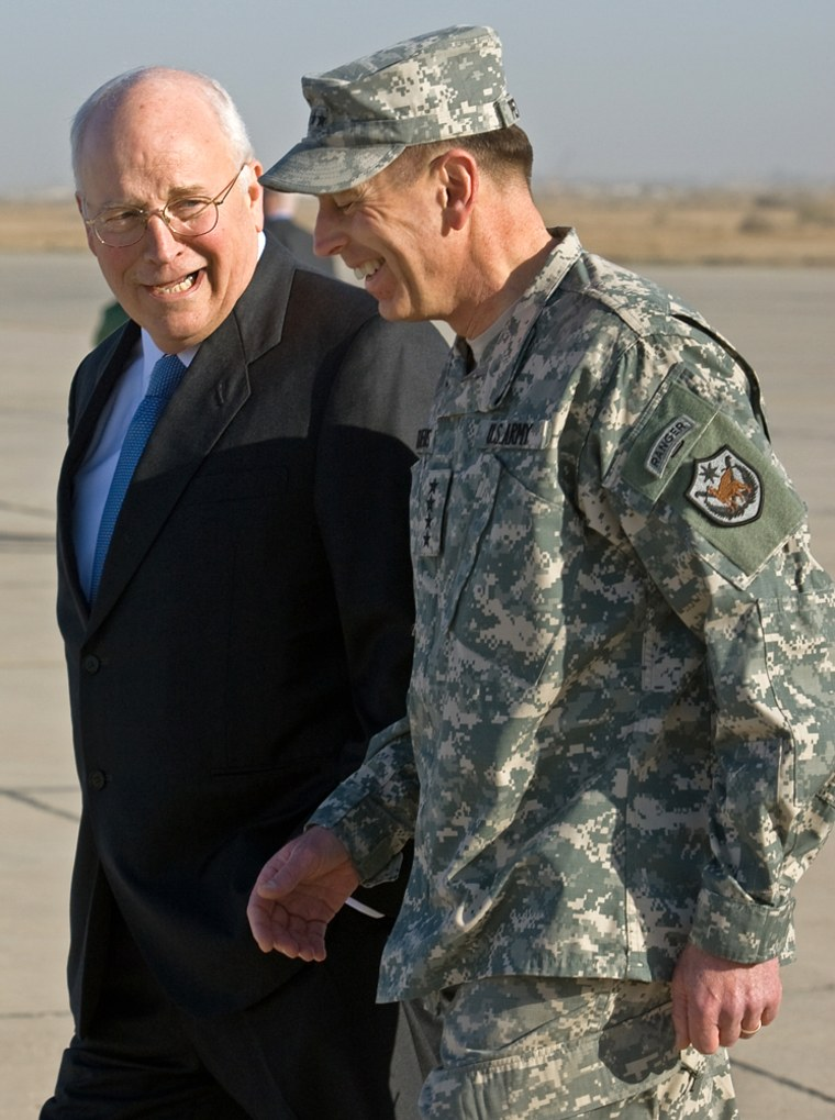 Image: US Vice President Dick Cheney visits Iraq