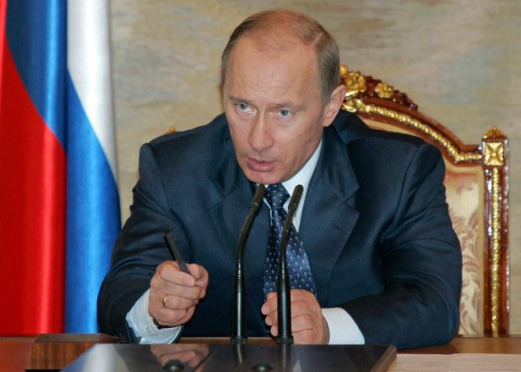 Image: Russian President Vladimir Putin.