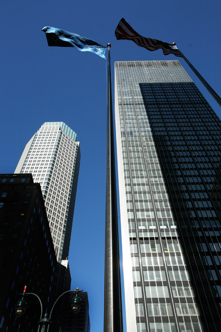 Image: Bear Stearns building in New York