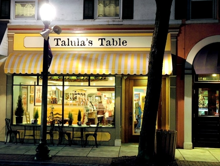 Aside from staking out this joint in Pennsylvania's horse country, the surest way to secure a 2009 table is to call Talula's the moment it opens.
