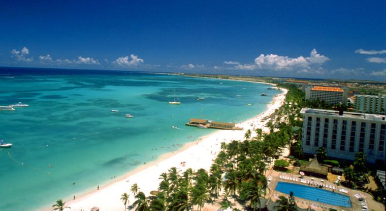 Image: Palm Beach on Aruba