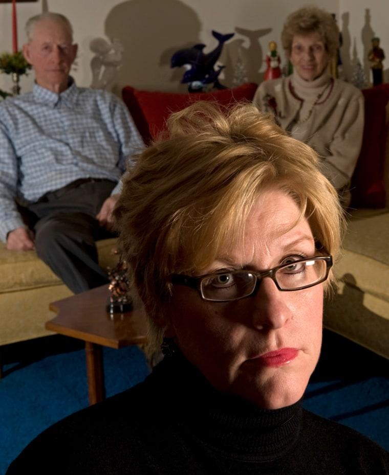 Image: Jo Ann Bauer and parents