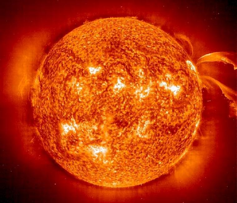 Image: Sun's hot corona