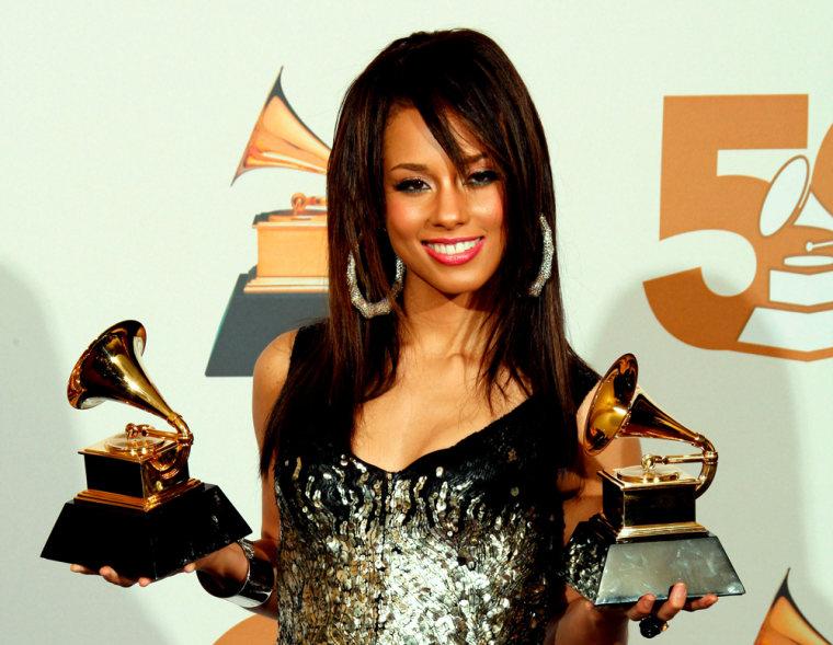 Image: US singer Alicia Keyes