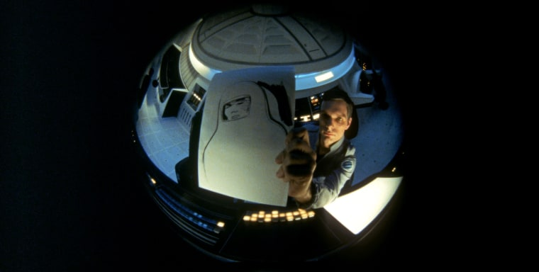 """Image: Scene from the movie, """"2001: A Space Odyssey."""""""