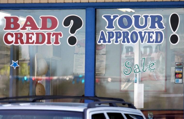 Image: Auto loans