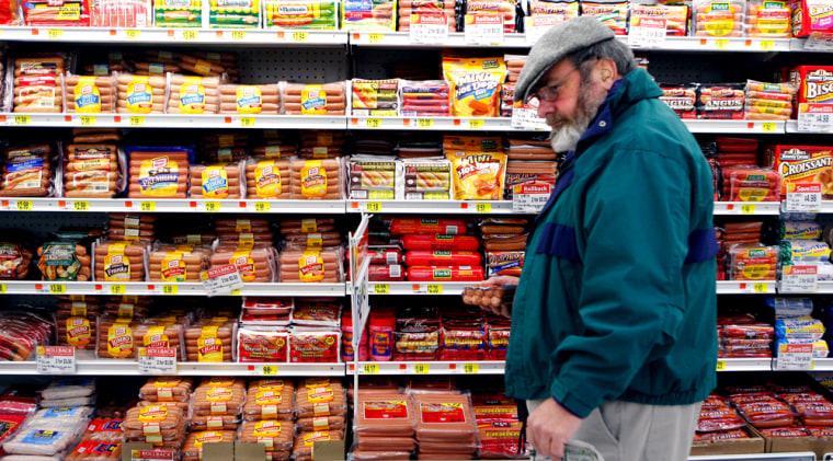 Michael Lipsitz, grocery shopping