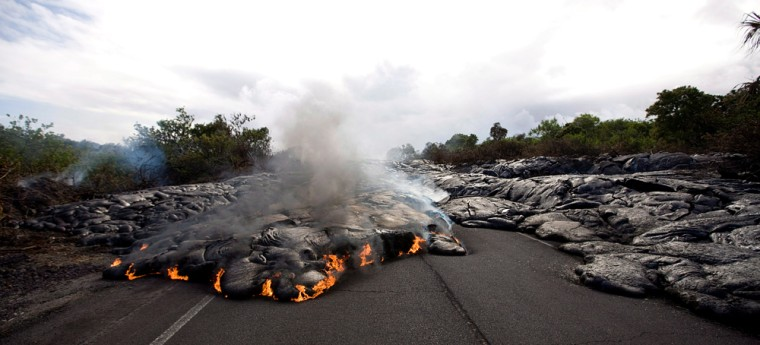 Image: Volcanic activity in Hawaii