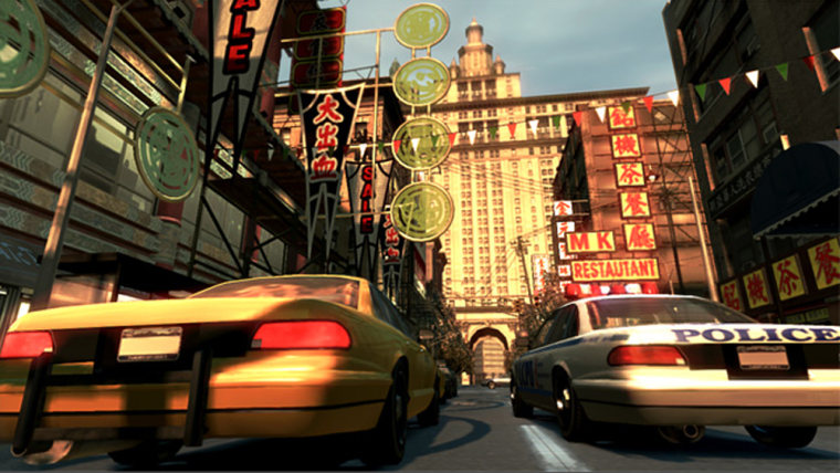 Image: Scene from Grand Theft Auto IV