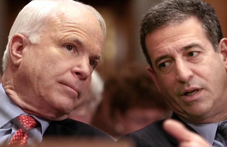Image: Sens. John McCain and Russell Feingold