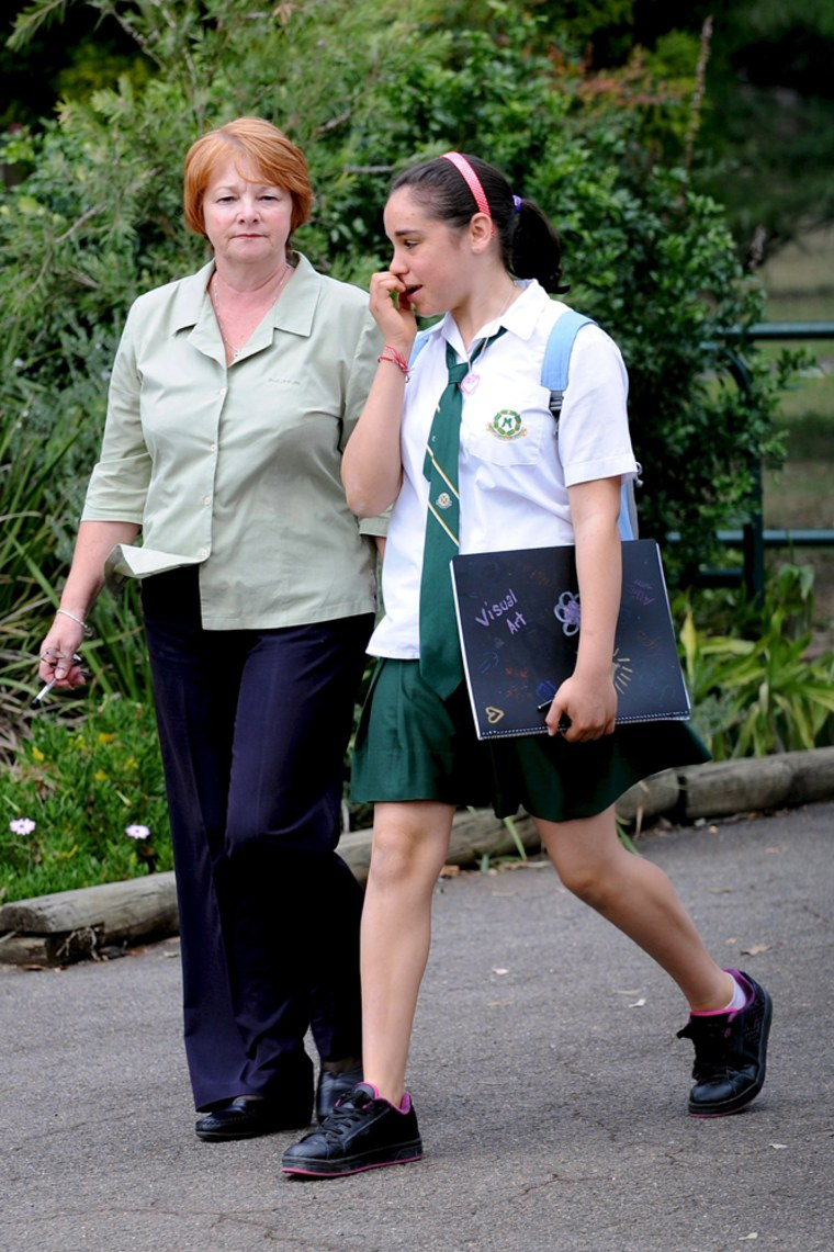 Image: Youths attack school in Sydney