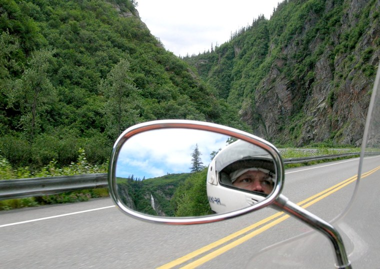 Image: Motorcycling to Alaska