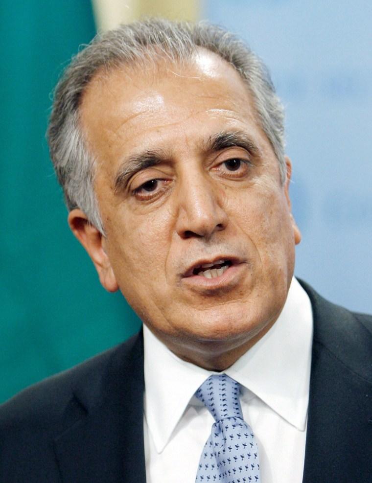 Image: United States Ambassador to the United Nations, Zalmay Khalilzad