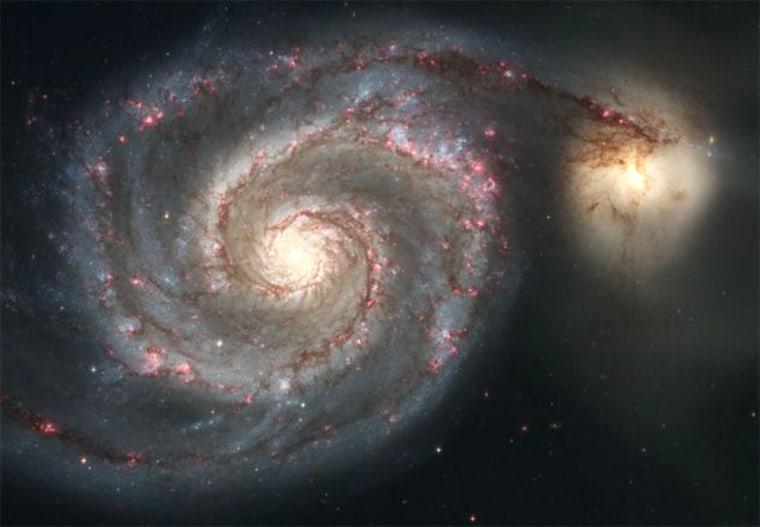 Image: Whirlpool Galaxy, M51