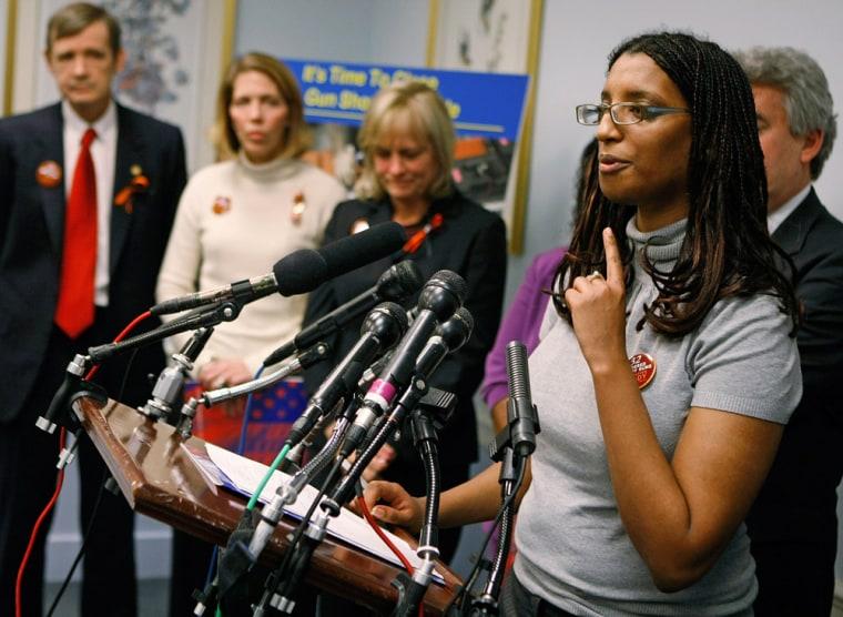 Senators And Virginia Tech Victims Unveil New Gun Legislation