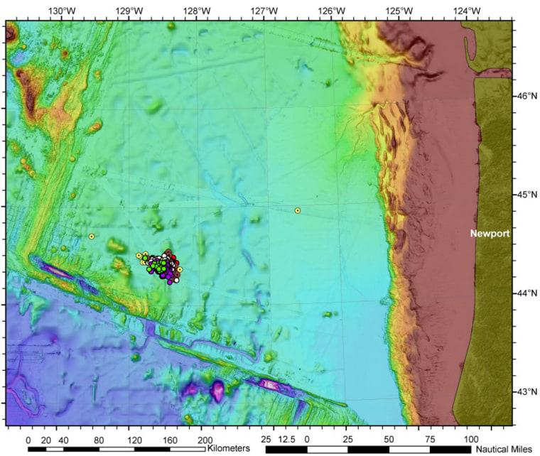 Image: Earthquake swarm