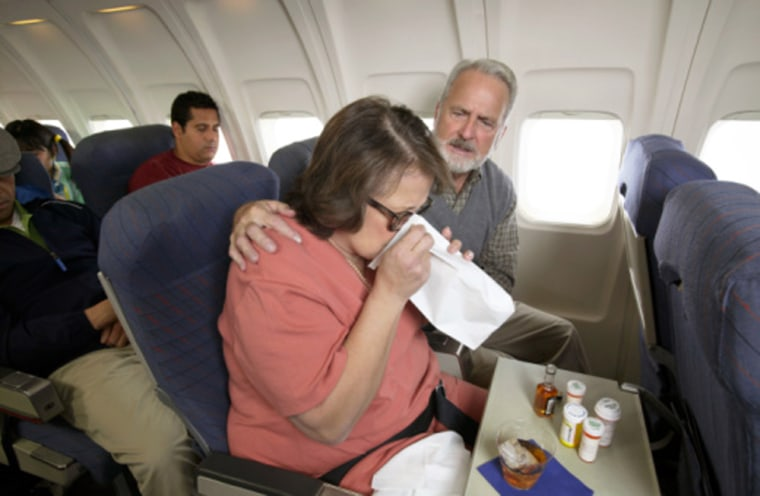 Although there are no surveys on the number of sick people who fly because of the airlines' rigid rules, there's ample anecdotal evidence that airline passengers are boarding their flights whether they feel well or not.