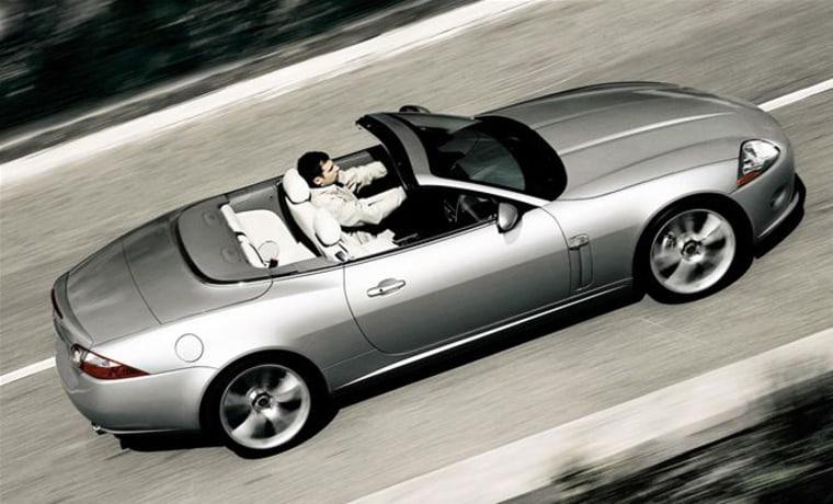 Image: Jaguar XK convertible