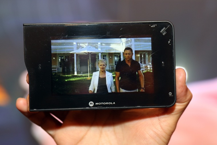 Image: a mobile tv device