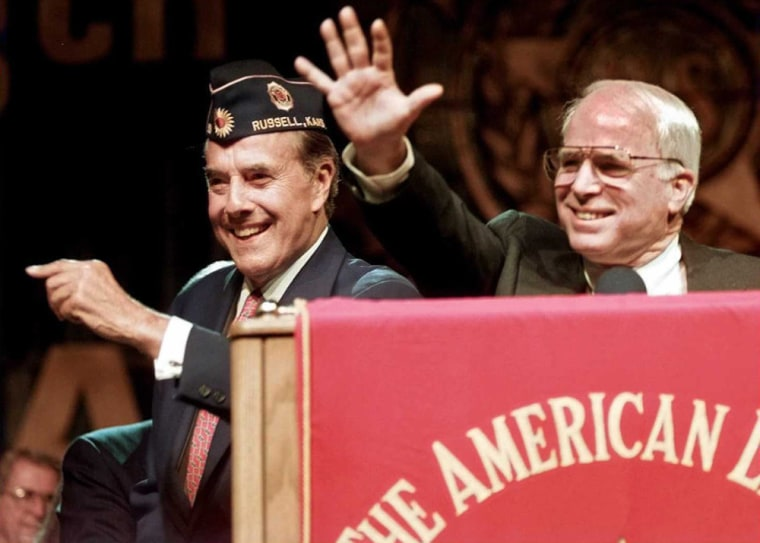 Image: Bob Dole and John McCain