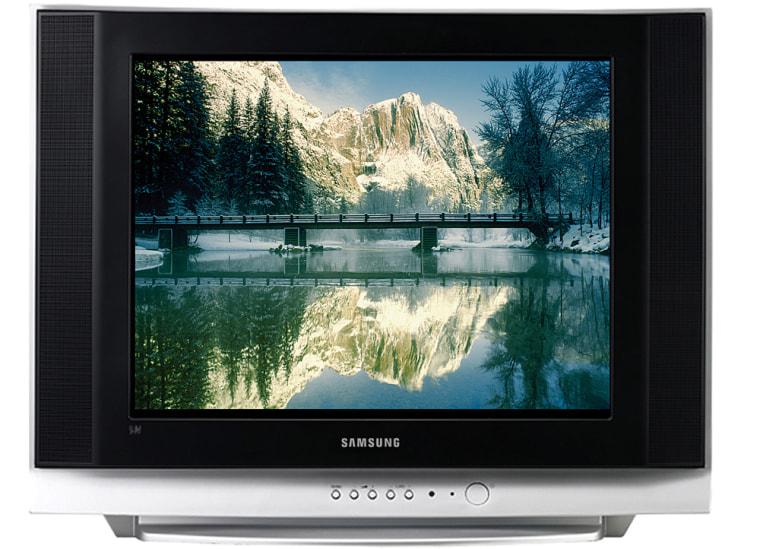 Image: Samsung 20-inch standard-definition TV