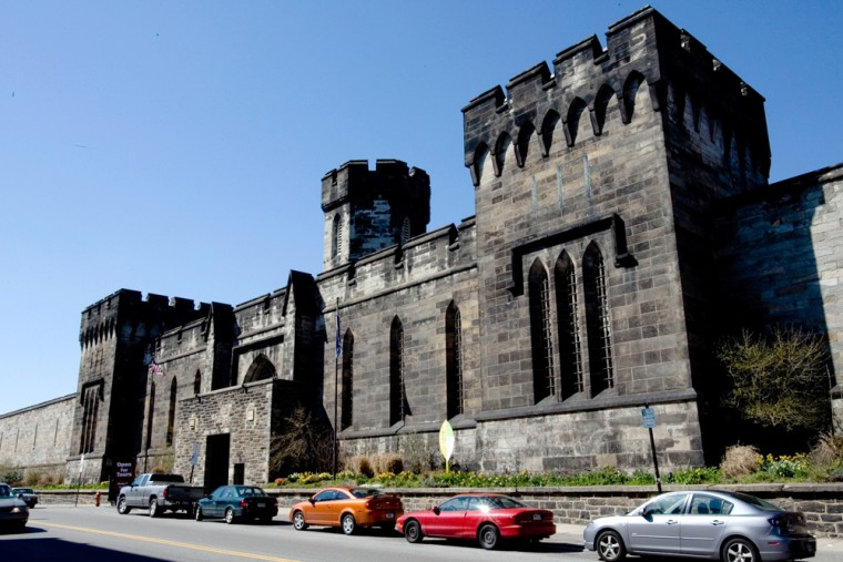 Image: Eastern State Pen.