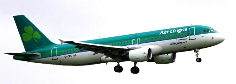 Image:  Aer Lingus jet