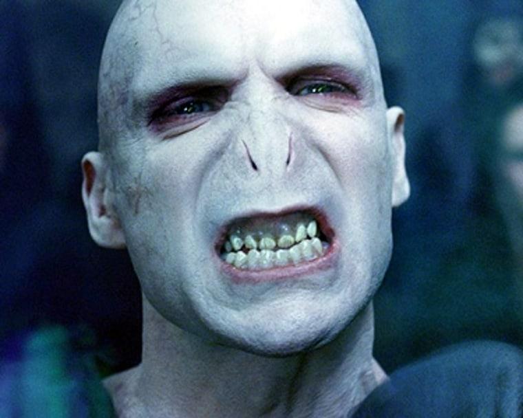 Voldemort headshot