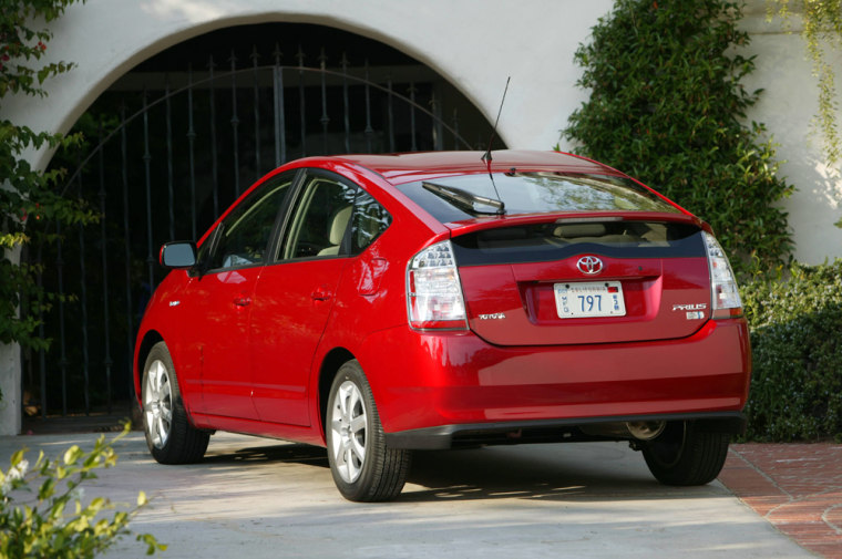 The Prius was the second mass-market hybrid after the Honda Insight. It went on sale in the U.S. in 2000.