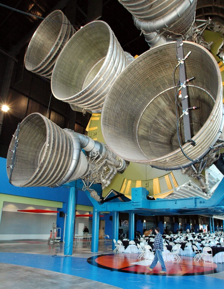 Image: Saturn V rocket in Huntsville, Ala.