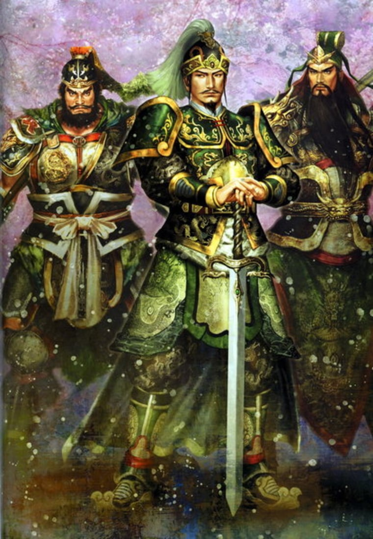 """""""Dynasty Warriors"""" by Japanese game developer Koei is based on""""Romance of the Three Kingdoms,"""" an epic Chinese novel familiar to most Asians."""