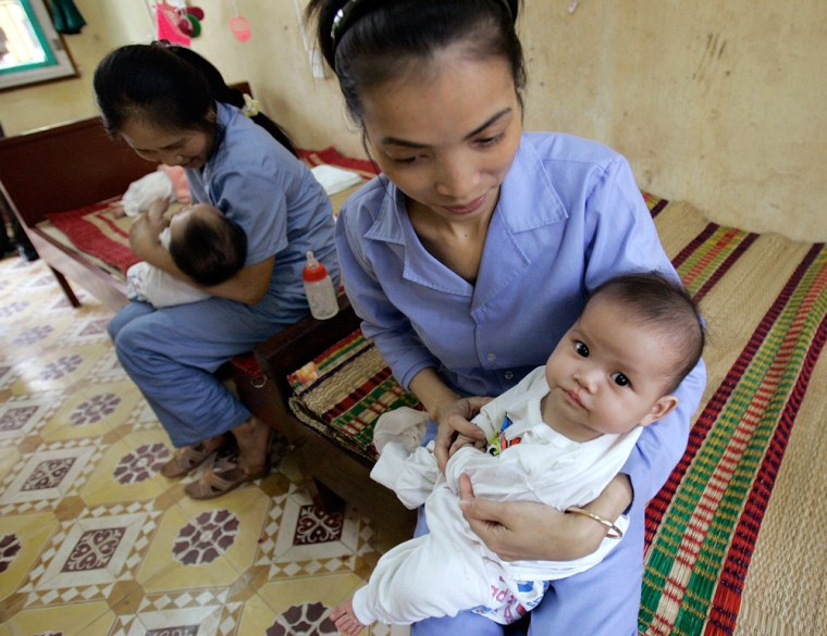 Image: orphanage in Vietnam