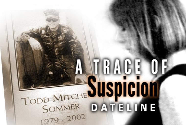 "Image: \""A Trace of Suspicion\"""