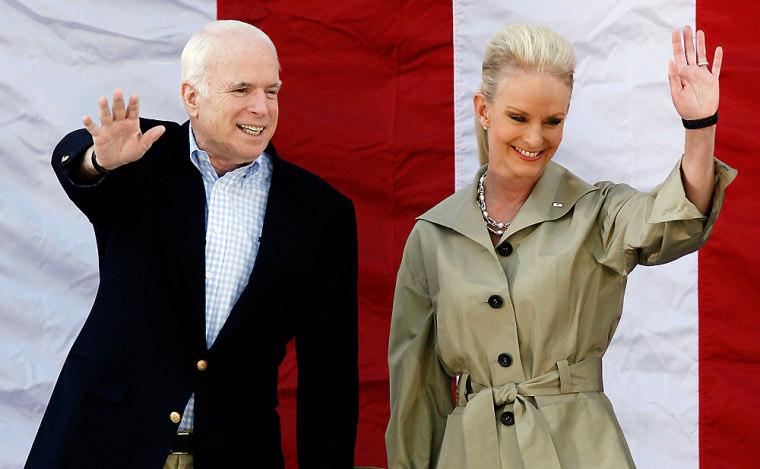 Image: John McCain, Cindy McCain