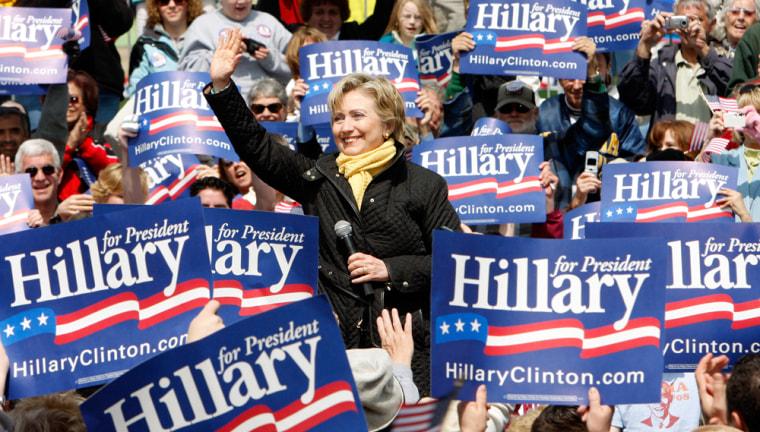 Image: Senator Hillary Clinton