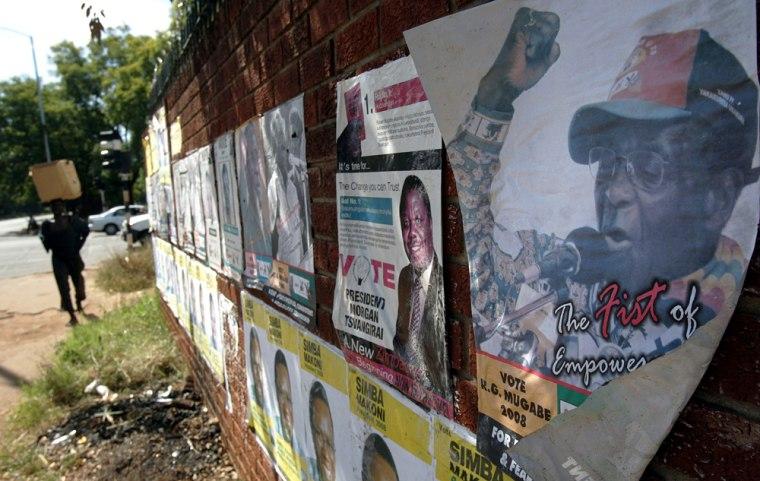 Image: Zimbabwe election