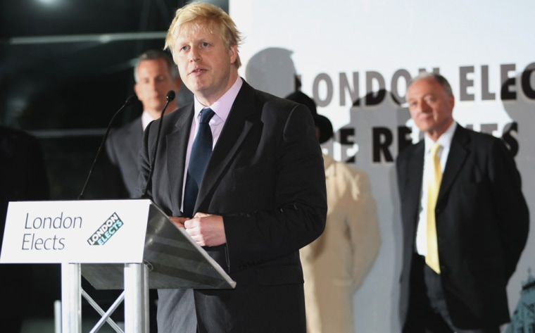 Image: Boris Johnson, Ken Livingstone