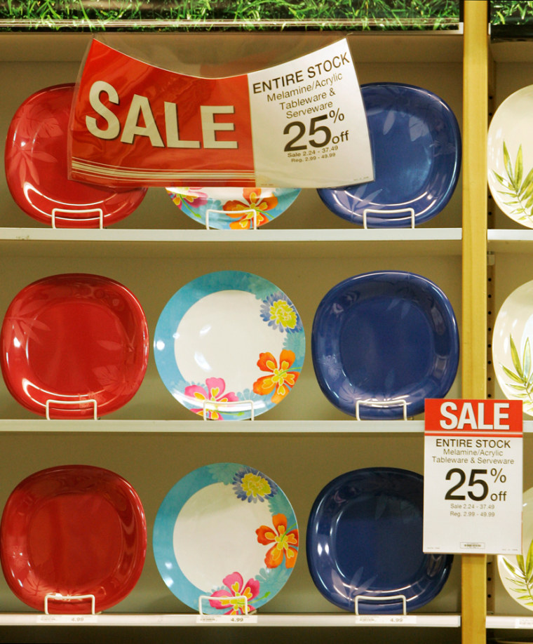 Image: Dishes for sale