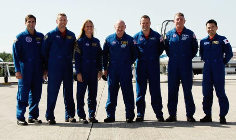 Image: STS-124 crew