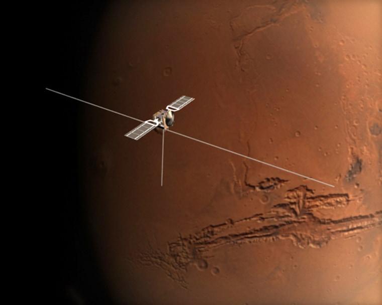 Image:ESA's Mars Express orbiter