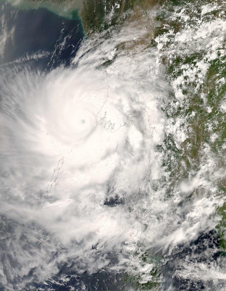 Image: Myanmar cyclone