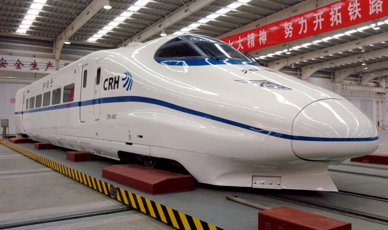 Image: CRH bullet trains