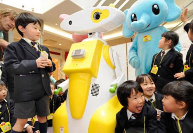 Image: Kid-watching robot