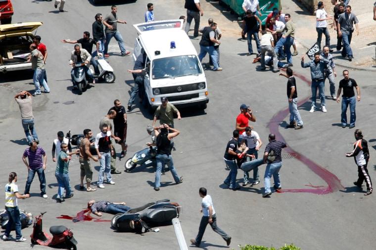 Image: Violence in Lebanon