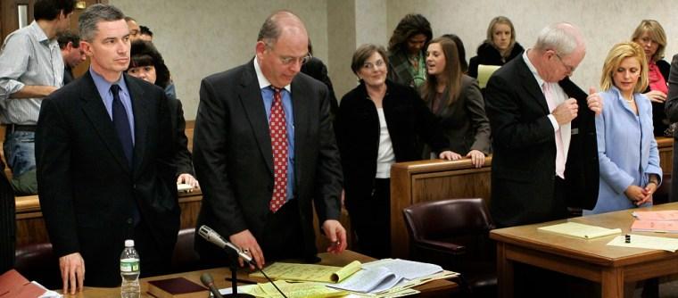 Image: Divorce of Former New Jersey Gov. James McGreevey